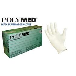 Polymed Latex Powder-Free Gloves